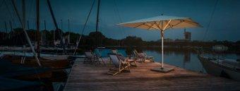 parasol båd